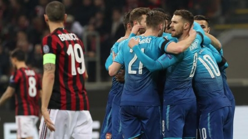 """Milan"" – ""Arsenal"" - 0:2"